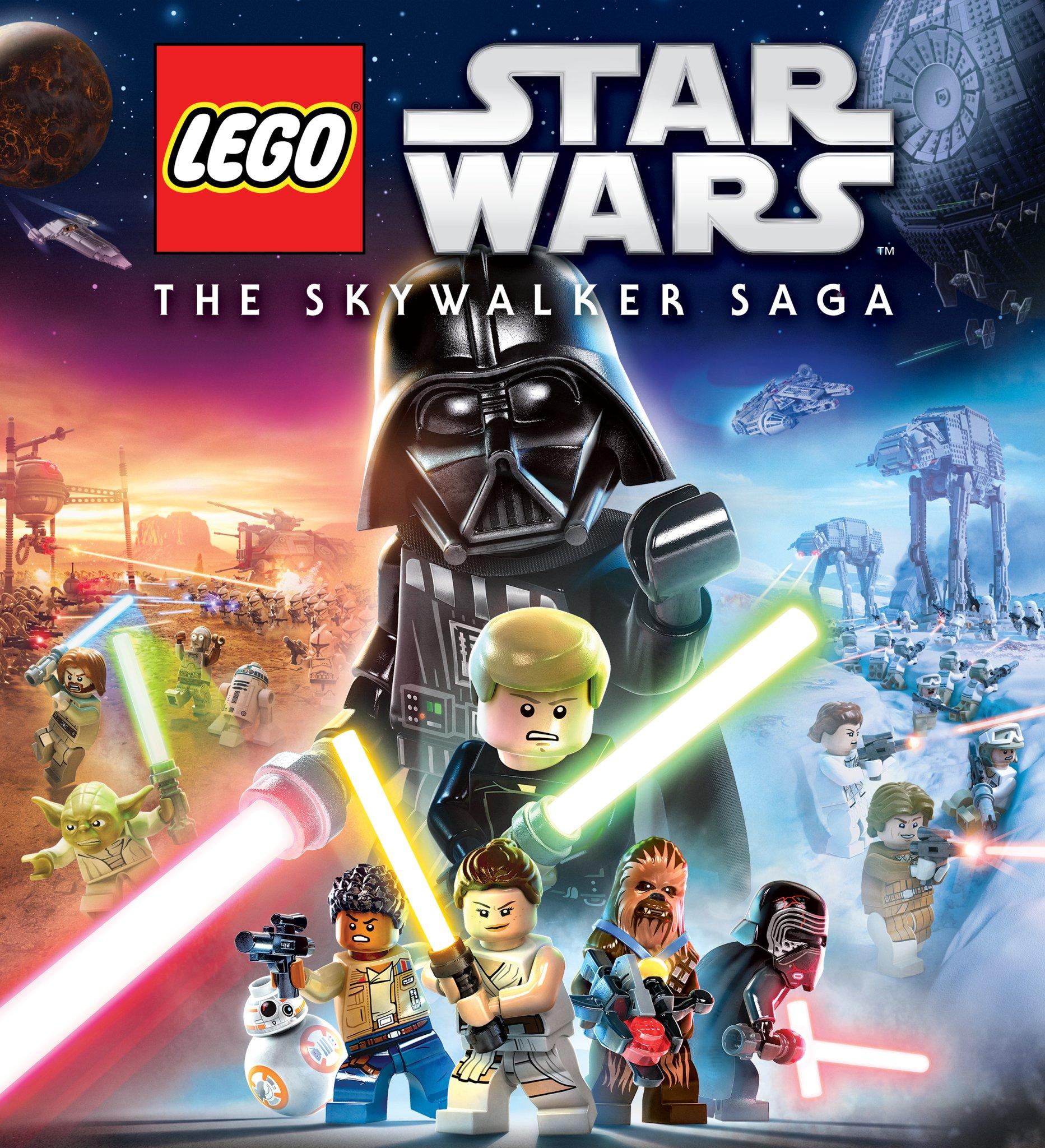 lego star wars the skywalker saga  lego star wars the