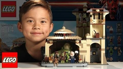 JABBA'S PALACE Lego Star Wars Set 9516 - Time-lapse Build, Unboxing & Review in 1080p HD