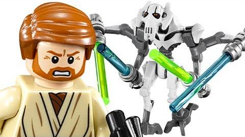 LEGO General Grievous Wheel Bike 75040 Star Wars Build & Review