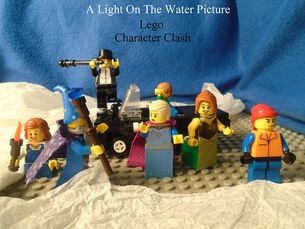 Lego Character Clash Poster - facebook