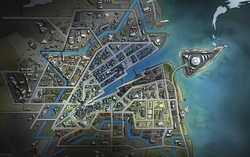 Astor City Map