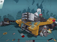 Tremor on his Armored Track Vehicle 2