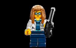 Professor Hydron character full body