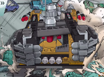 Tremor on his Armored Track Vehicle 1