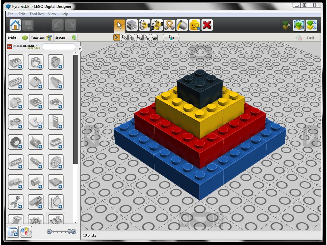 LEGO DIGITAL DESIGNER 4.3.8 СКАЧАТЬ БЕСПЛАТНО