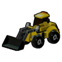 Icon Vehicle Articulated Digger