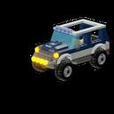 Icon Vehicle Swamp Police 4x4
