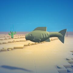Sand Green Fish