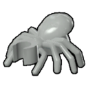 Icon Creature Silver Spider