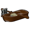 Icon Vehicle Pirate Rowing Boat