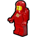 Icon Character ClassicSpace Spaceman (Red)