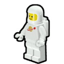 Icon Character ClassicSpace Spaceman (White)
