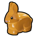 Icon Creature Orange Rabbit