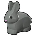 Icon Creature Medium Grey Rabbit