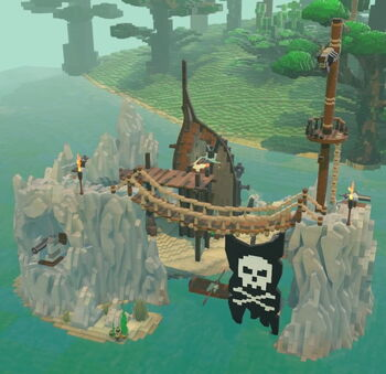 Pirateship Wreck Camp