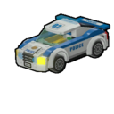 Icon Vehicle Police Car