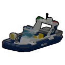 Icon Vehicle Swamp Police Boat