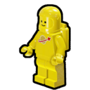 Icon Character ClassicSpace Spaceman (Yellow)