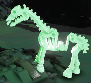 Glowing Skeleton Horse