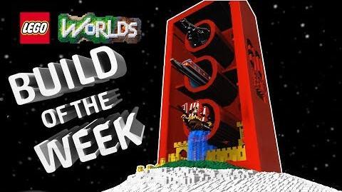 LEGO Worlds - Build of the Week Fan Creates EPIC LEGO Birthday Brick Build!