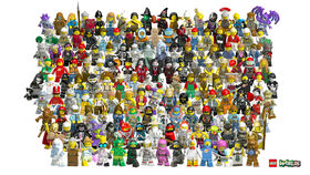 2017 LEGO Worlds Minifigures collection by hymn