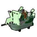 Icon Vehicle Ghost Ship Kart