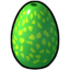 Icon Dragon Egg Green