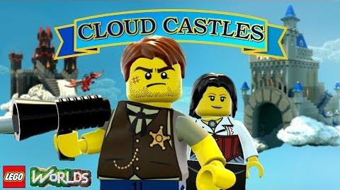 LEGO Worlds Adventure in the Cloud Castles - FREE to Download!