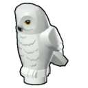 Icon Creature White Owl