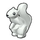 Icon Creature White Squirrel