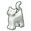 Icon Creature White Cat