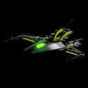 Icon Vehicle Alien Strike Ship