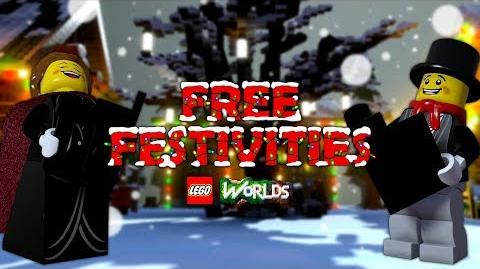 FREE Festivities in LEGO Worlds!