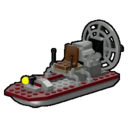 Icon Vehicle Air Boat
