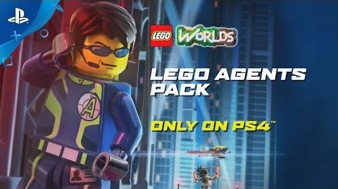 LEGO Worlds - Agents Pack Trailer