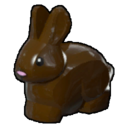 Icon Creature Dark Brown Rabbit
