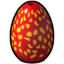 Icon Dragon Egg Red