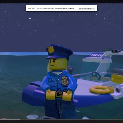 The Police Boat during Early Access.