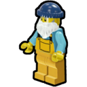 Icon Character Fisherman