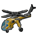Icon Vehicle Jungle Cargo Helicopter
