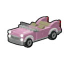 Icon Vehicle Pink Convertible