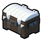 Icon Treasure Chest Snowy