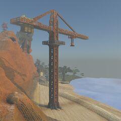 Giant crane in the Junkyard.