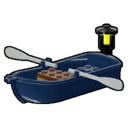 Icon Vehicle Rowing Boat