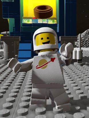 Spaceman in White