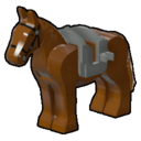 Icon Creature Brown Horse