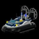 Icon Vehicle Swamp Police Hovercraft