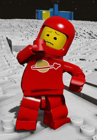 Red Spaceman is scared!