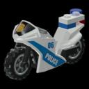 Icon Vehicle Police Motorbike