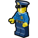 Icon Character Police Officer (Serious)